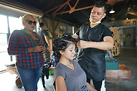 Behind The Scenes Nicole Vega Video Clip on September 16, 2020 in Fallbrook, California, United States (Photo by JC Olivera)