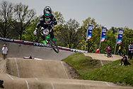 #95 (NOBLES Barry) USA at the 2016 UCI BMX Supercross World Cup in Papendal, The Netherlands.