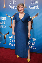 February 17, 2019 - Beverly Hills, California, U.S - Alexis Roblan in the red carpet of the 2019 Writers Guild Awards at the Beverly Hilton Hotel on Sunday February 17, 2019 in Beverly Hills, California. JAVIER ROJAS/PI (Credit Image: © Prensa Internacional via ZUMA Wire)