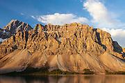 Bow Lake in Banff National Park, Alberta Canada