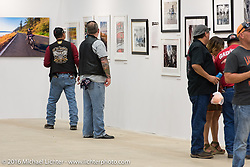 Display of Michael Lichter's photography in the Thunderdome at the 2016 ROT (Republic of Texas Rally). Austin, TX, USA. June 10, 2016.  Photography ©2016 Michael Lichter.