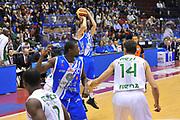 DESCRIZIONE : Milano Final Eight Coppa Italia 2014 Finale Montepaschi Siena - Dinamo Banco di Sardegna Sassari<br /> GIOCATORE : Travis Diener<br /> CATEGORIA : Tiro Tre Punti<br /> SQUADRA : Dinamo Banco di Sardegna Sassari<br /> EVENTO : Final Eight Coppa Italia 2014 Milano<br /> GARA : Montepaschi Siena - Dinamo Banco di Sardegna Sassari<br /> DATA : 09/02/2014<br /> SPORT : Pallacanestro <br /> AUTORE : Agenzia Ciamillo-Castoria / Luigi Canu<br /> Galleria : Final Eight Coppa Italia 2014 Milano<br /> Fotonotizia : Milano Final Eight Coppa Italia 2014 Finale Montepaschi Siena - Dinamo Banco di Sardegna Sassari<br /> Predefinita :