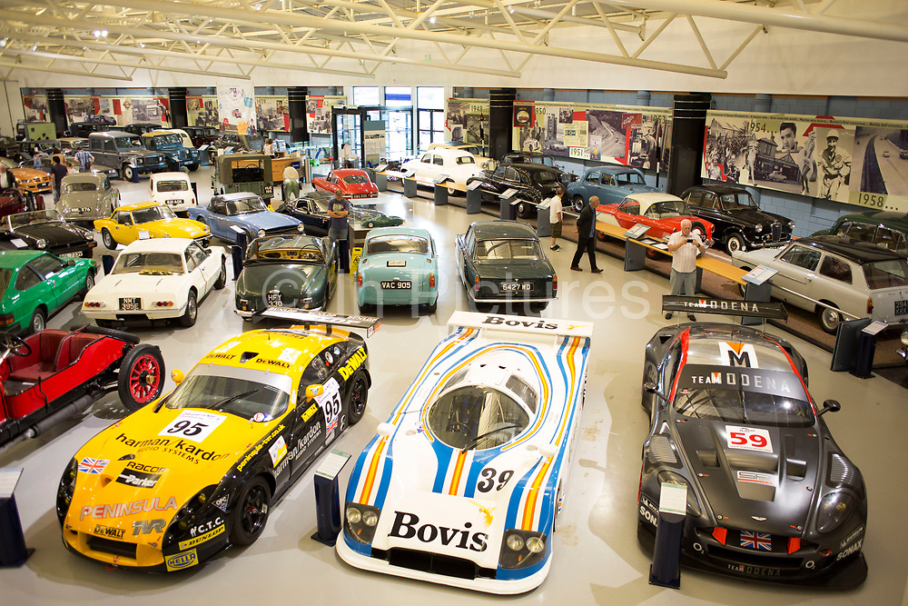 The Heritage Motor Centre is home to the world's largest collection of British Cars; it boasts nearly 300 cars in its collection which span the classic, vintage and veteran eras and is a must for car enthusiasts. Gaydon, Warwickshire, England, UK.