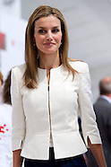070414 Queen Letizia attends the Event commemorating the 150th anniversary of Spanish Red Cross