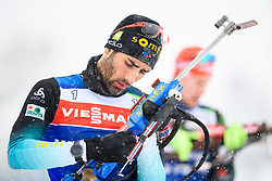 March 8, 2019 - –Stersund, Sweden - 190308 Martin Fourcade of France at the men's training session during the IBU World Championships Biathlon on March 8, 2019 in Östersund..Photo: Petter Arvidson / BILDBYRÃ…N / kod PA / 92246 (Credit Image: © Petter Arvidson/Bildbyran via ZUMA Press)