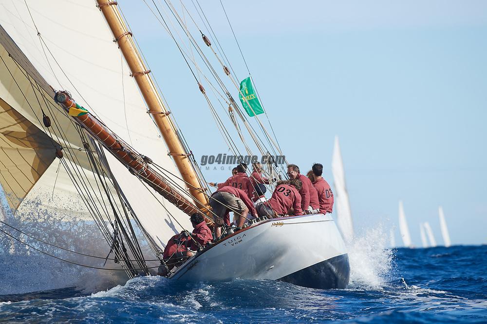 Classic Yachts sailing in Saint Tropez 2018