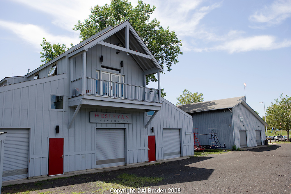 Wesleyan University Boathouse, Connecticut River, Waterfront, Middletown,  CT