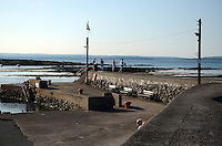 Harbour, Groomsport, Co Down, N Ireland, UK, travel, tourism, 201208100491..Copyright Image from Victor Patterson, 54 Dorchester Park, Belfast, UK, BT9 6RJ..Tel: +44 28 9066 1296.Mob: +44 7802 353836.Voicemail +44 20 8816 7153.Skype: victorpattersonbelfast.Email: victorpatterson@me.com.Email: victorpatterson@ireland.com (back-up)..IMPORTANT: If you wish to use this image or any other of my images please go to www.victorpatterson.com and click on the Terms & Conditions. Then contact me by email or phone with the reference number(s) of the image(s) concerned.