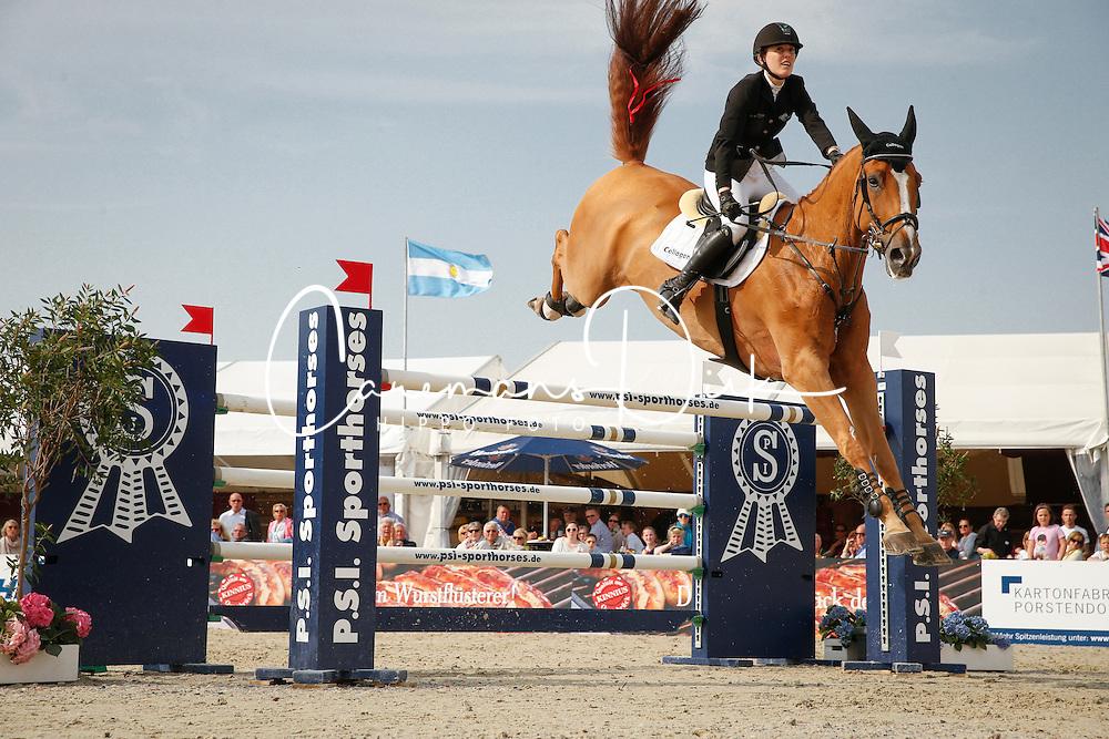 Meyer Janne-Friederike, (BEL), Goja<br /> preis des PSI GmbH<br /> Hagen - Horses and Dreams 2015<br /> © Hippo Foto - Stefan Lafrentz<br /> 24/04/15