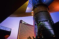 Fashion Show Mall and Wynn Las Vegas Resort, Las Vegas Boulevard, Las Vegas, Nevada USA