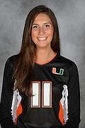 2015-16 Miami Hurricanes Athletics Head Shots