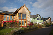 Findhorn Foundation on the 6th November 2018 in Findhorn, Scotland in the United Kingdom. The Findhorn Foundation is a Scottish charitable trust which began in 1972, formed by the spiritual community at the Findhorn Ecovillage, one of the largest intentional communities in Britain.