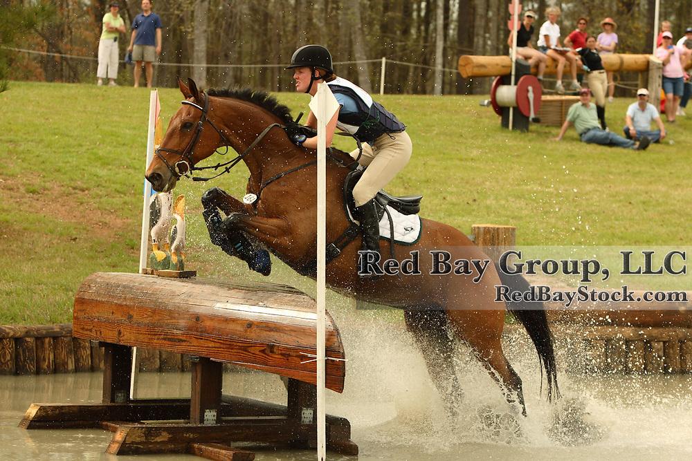 Selena O'Hanlon (CAN) and Colombo at Poplar Place Spring Horse Trials held in Hamilton, Georgia