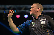 Glen Durrant (England) during the Betway Premier League Darts Night Eight at Marshall Arena, Milton Keynes, United Kingdom on 21 April 2021