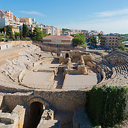 Roman Coliseum amphitheater, Tarragona, Spain