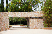 Cerritos Sculpture Garden North Entrance