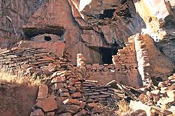Cliff Dwelling, Mustang Ridge, Apache Reservation