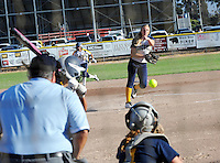 Soquel pitcher Anna Gurr releases a fastball during Tuesday's CCS Division III semifinals matchup against Soquel in Salinas.