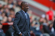 Southend United manager Chris Powell  during the EFL Sky Bet League 1 match between Charlton Athletic and Southend United at The Valley, London, England on 9 February 2019.