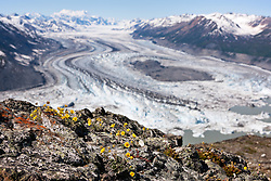 Lowell Glacier, Kluane National Park, Yukon