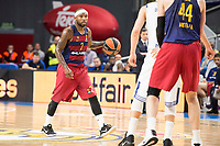 FC Barcelona Lassa's Tyrese Rice during Turkish Airlines Euroleague match between Real Madrid and FC Barcelona Lassa at Wizink Center in Madrid, Spain. March 22, 2017. (ALTERPHOTOS/BorjaB.Hojas)