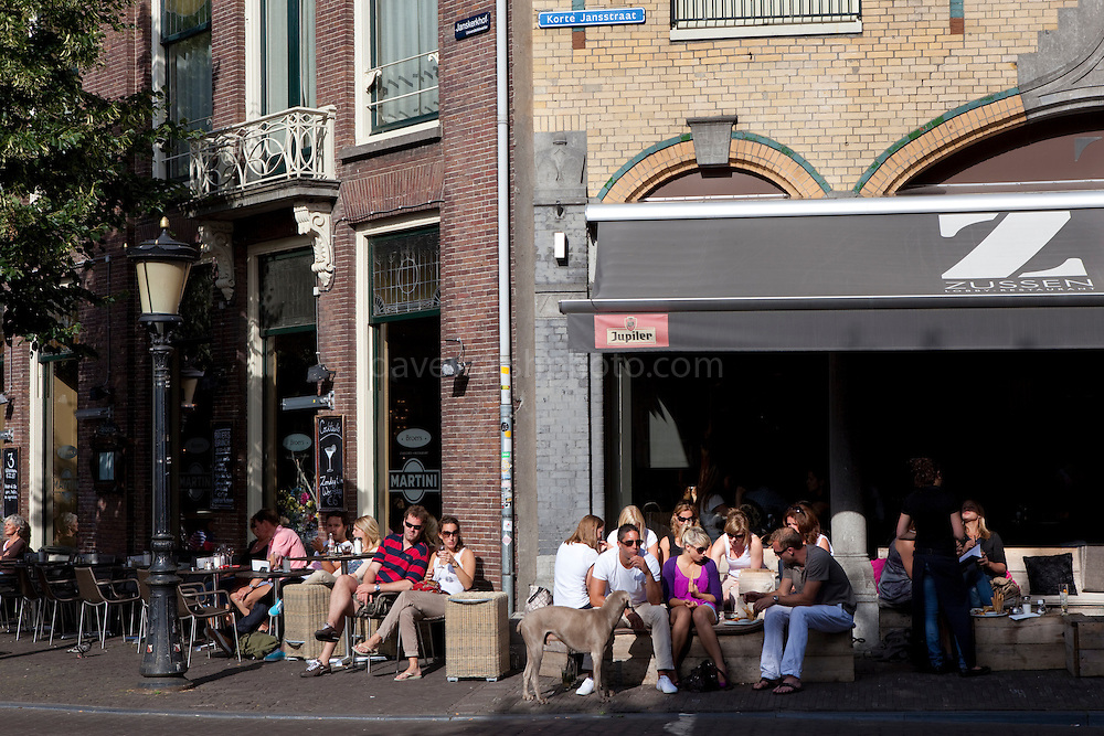 Cafe culture in Utrecht