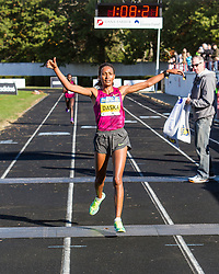Boston Athletic Association Half Marathon, Mamitu Daska wins