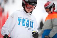 Francis Piche Invitational giant slalom for J5, J4, J3 at Gunstock March 17, 2012.