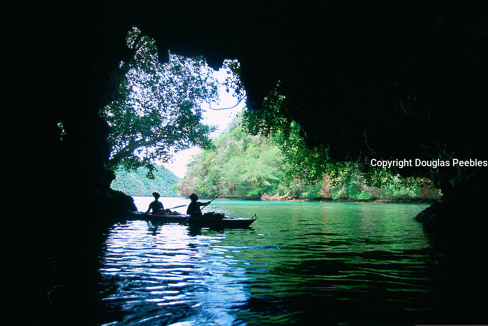 Kayaking, Rock Islands, Palau, Micronesia<br />