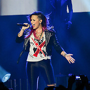 BETHLEHEM, PA - MARCH 04:  Demi Lovato performs live in concert at Sands Bethlehem Event Center on March 4, 2014 in Bethlehem, Pennsylvania.  (Photo by Lisa Lake/Getty Images)