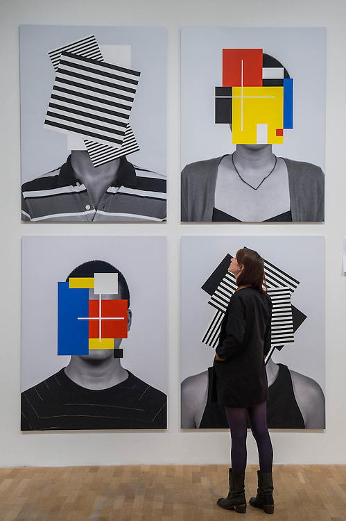 Douglas Coupland Deep Face 2015 - Electronic Superhighway (2016-1966) at the Whitechapel Gallery opens on 29 January to show the impact of computers and internet technologies on contemporary art. The exhibition brings together over 100 works including film, photography, interactive works, painting and drawing by over 70 artists. Arranged in reverse chronological order, the exhibition begins with works made at the arrival of the new millennium, and ends with artefacts from Experiments in Art and Technology (E.A.T), an iconic, artistic moment that took place in 1966. Highlights include: Internet Dream (1994) by Nam June Paik, 'the father of video art' - a video-wall of 52 monitors displaying electronically-processed images; New large-scale works by Douglas Coupland, author of 'Generation X: Tales for an Accelerated Culture', on show in the UK for the first time; Photographs from Amalia Ulman's Instagram based selfie project Excellences & Perfections; and a wall covered in an image by artist Constant Dullaart of Jennifer in Paradise, the first picture ever to be manipulated using Photoshop (Taken by one of the creators of Photoshop on holiday in the 80s, it depicts his girlfriend on a tropical beach).