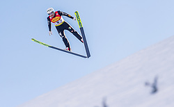 31.01.2020, Seefeld, AUT, FIS Weltcup Nordische Kombination, Skisprung, im Bild Lukas Runggaldier (ITA) // Lukas Runggaldier of Italy during Skijumping Competition of FIS Nordic Combined World Cup at the Seefeld, Austria on 2020/01/31. EXPA Pictures © 2020, PhotoCredit: EXPA/ Stefan Adelsberger