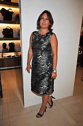 Editor of Vogue ALEXANDRA SHULMAN at a reception hosted by Vogue and Burberry to celebrate the launch of Fashions Night Out - held at Burberry, 21-23 Bond Street, London on 10th September 2009.
