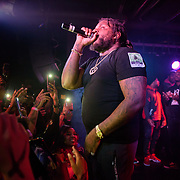WASHINGTON, DC - December 15th, 2017 - Fat Trel performs at U Street Music Hall in Washington, D.C.  (Photo by Kyle Gustafson / For The Washington Post)