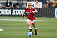 04 December 2011: Stanford's Camille Levin. The Stanford University Cardinal defeated the Duke University Blue Devils 1-0 at KSU Soccer Stadium in Kennesaw, Georgia in the NCAA Division I Women's Soccer College Cup Final.