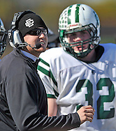 Michael Polevacik was introduced as the new head football coach of Elyria Catholic during a school pep rally on January 21, 2011.<br /> He previously served as the team's defensive coordinator and the strength and conditioning coach.