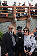 Y.Z. KAMI, PETER MARINO, MARILYN OFER,, Y.Z. KAMI Book signing for Y.Z. Kami, , Bar Foscarini hosted by Gagosian, Opening of the Venice Biennale, Venice, 9 May 2019
