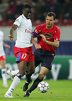 Fotball<br /> UEFA CHAMPIONS LEAGUE<br /> 26.09.2006<br /> CSKA Moskva v Hamburger SV - HSV<br /> Foto: Witters/Digitalsport<br /> NORWAY ONLY<br /> <br /> v.l. Boubacar Sanogo HSV, Sergei Ignashevich