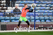 Craig MacGillivray (1) of Portsmouth warming up ahead of the EFL Sky Bet League 1 match between Portsmouth and Ipswich Town at Fratton Park, Portsmouth, England on 21 December 2019.