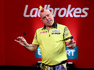 Peter Wright during the 2018 Players Championship Finals at Butlins Minehead, Minehead, United Kingdom on 24 November 2018.