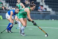 AMSTELVEEN - Hannah McLoughlin (Ier)  tijdens de dames -wedstrijd  ,  Ierland-Italie (3-0) bij het  EK hockey , Eurohockey 2021. COPYRIGHT KOEN SUYK