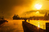 Early November Morning, Chittenden Locks (Ballard Locks)