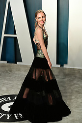 Suki Waterhouse attending the Vanity Fair Oscar Party held at the Wallis Annenberg Center for the Performing Arts in Beverly Hills, Los Angeles, California, USA.