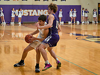 Lipscomb Academy beat Father Ryan 46-57 at home Friday, January 31, 2020, in Nashville, Tennessee.<br /> Photo: Harrison McClary/All Tenn Sports