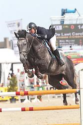 De Laet Caroline (BEL) - Comtesse vt Ertsenhof Z<br /> Belgisch kampioenschap jonge springpaarden Gesves 2012<br /> © Hippo Foto - Counet Julien