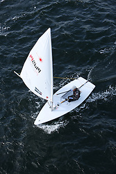 Day 4 NeilPryde Laser National Championships 2014 held at Largs Sailing Club, Scotland from the 10th-17th August.<br /> <br /> 192619, Milo GILL-TAYLOR<br /> <br /> Image Credit Marc Turner