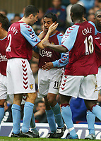 Fotball<br /> Premier League 2004/2005<br /> 06.11.2004<br /> Foto: SBI/Digitalsport<br /> NORWAY ONLY<br /> <br /> Aston Villa v Portsmouth<br /> <br /> VILLA'S NOLBERTO SOLANO CELEBRATES HIS GOAL