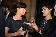 RACHEL HOWARD; LAUREN JONES, Sarah Lucas- Scream Daddio party hosted by Sadie Coles HQ and Gladstone Gallery at Palazzo Zeno. Venice. 6 May 2015.