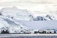 Stunning Antarctic landscape.
