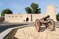 Sultan Bin Zayed Fort beside National Museum at Al Ain United Arab Emirates